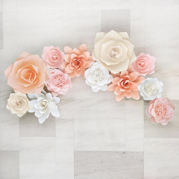 ジャイアントフラワー 手作りキット 作り方 結婚式 ウェディング